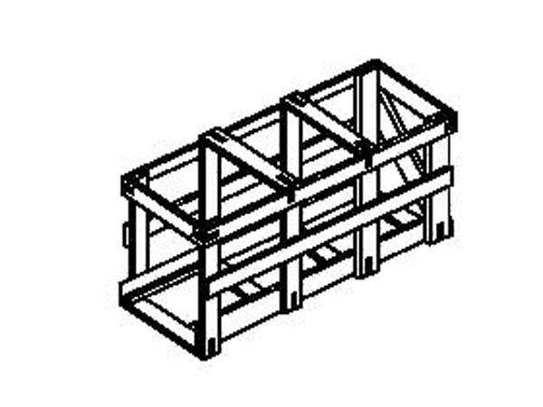 Обрешетки дощатые для грузов массой до 500 кг ГОСТ 12082-82
