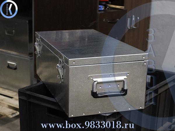 Ящик оцинкованный 6