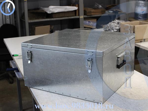 Ящик оцинкованный 8